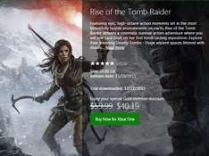 Xbox Live: Rise of the Tomb Raider Xbox One Digital