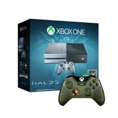 Walmart: Consola Xbox One Edicion Halo 5 Guardians mas control edición Halo 5 Guardians The Master Chief