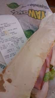 Subway: Sandwich MELT a $34 (regular $51)