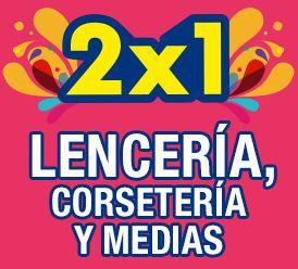 Julio Regalado en La Comer: 2x1 en lencería, corsetería, medias y más