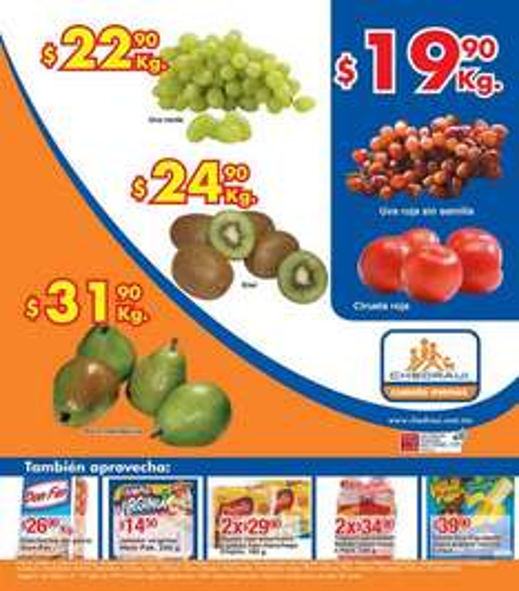Miércoles de Chedraui julio 17: melón y sandía $5.90 y más
