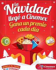 CINEMEX regalo del dia ULTIMO!!!: palomitas