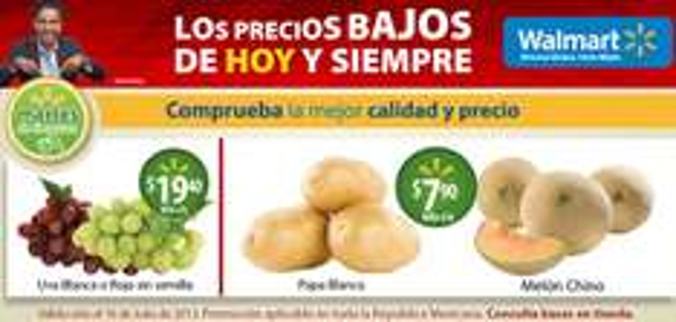 Martes de frescura Walmart julio 16: melón $7.90 y más
