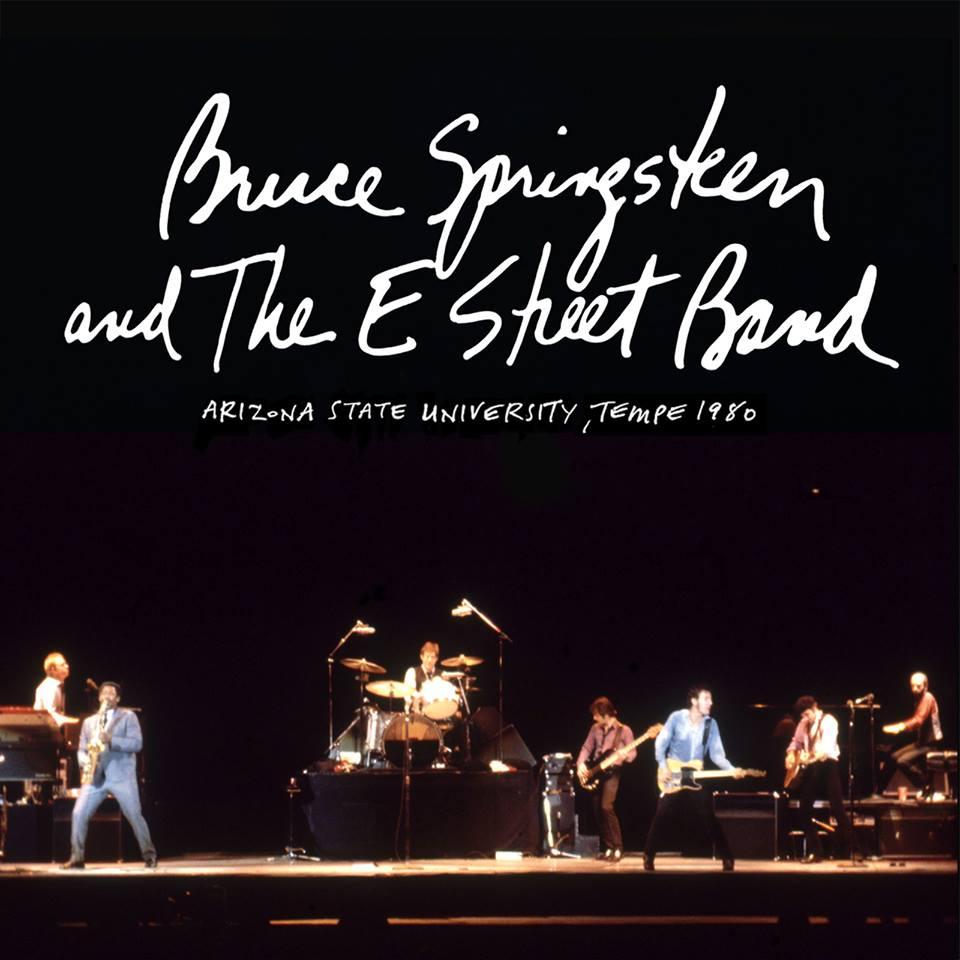 10 Canciones de Bruce Springsteen & The E Street Band (LIVE AT TEMPLE, AZ 1980) GRATIS, por cortesia del artista.
