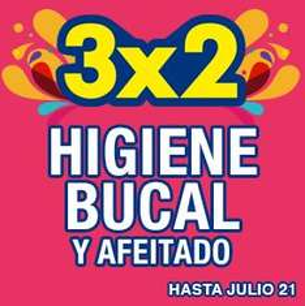 Julio Regalado en La Comer: 3x2 en higiene bucal y afeitado