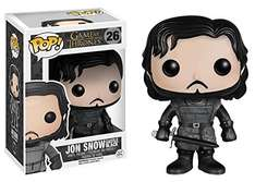 Amazon Mx: Funko Pop Jon Snow Game Of Thrones ($104) y Crowley de Supernatural ($87)