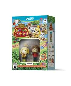 Amazon: Animal Crossing amiibo Festival Bundle para Wii U a $37 USD con envío incluido