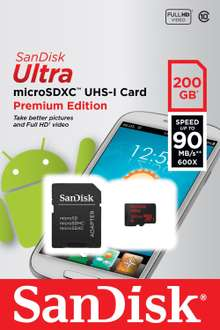 Amazon: SanDiskMicroSD 200Gb a $2,029