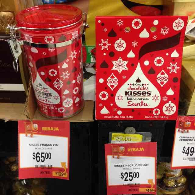 Walmart: Liquidación de chocolates Navidad