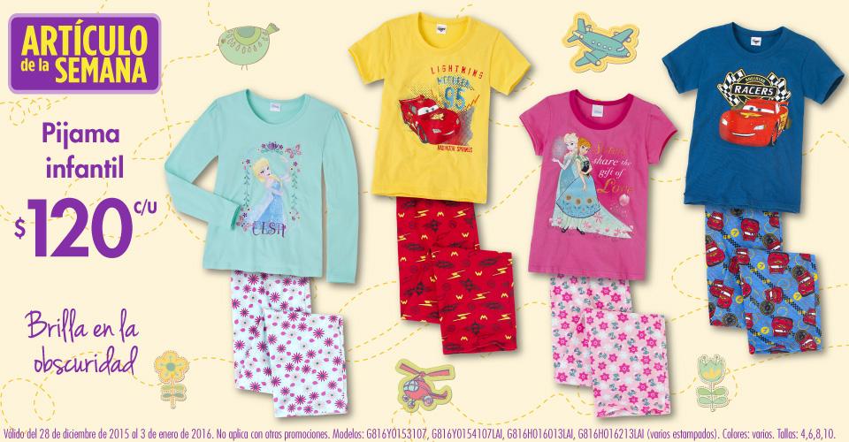 Suburbia: articulo de la semana: pijama infantil $120 c/u