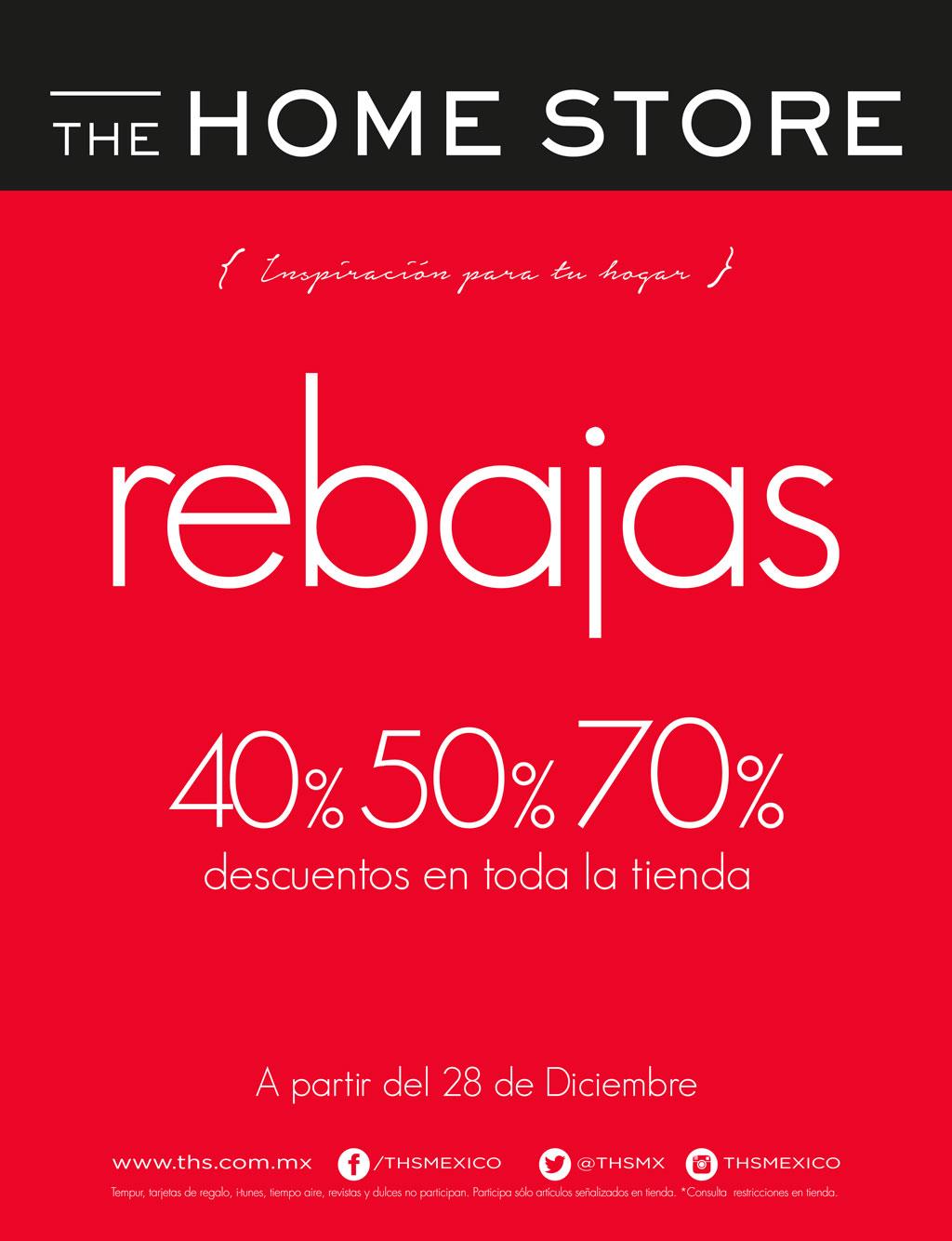 The Home Store: Rebajas de invierno: hasta 70% de descuento