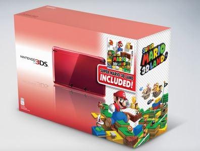 Linio: consola Nintendo 3DS roja con Super Mario 3D Land $2,389