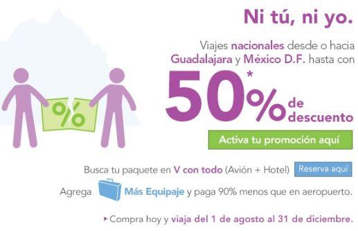 Volaris: ofertas desde y hacia Guadalajara y el DF y más