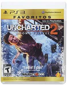 Amazon Mx: PS3 Uncharted 2 ($119), God of War 3 ($150)