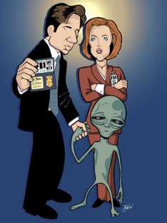 Amazon USA, X Files en bluray con descuento de hasta 50% cada temporada.