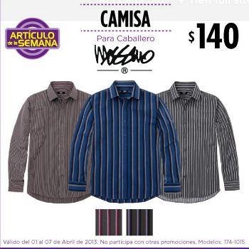 Artículo de la semana Suburbia: camisa para hombre $140