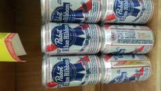 Soriana: Six pack Cerveza Pabst Blue Ribbon a $36