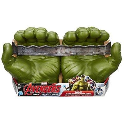 Amazon: Hulk - Puños $313 y muñeco $145