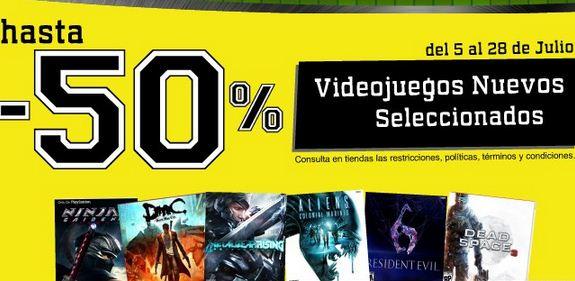 Blockbuster: descuentos del 20% al 50% en juegos nuevos