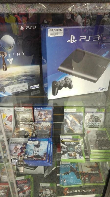 Chedraui en linea y tienda fisica PS3 Destiny 500gb