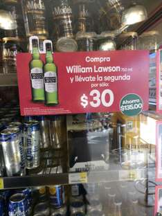 Seven Eleven: Dos Botellas William Lawson por $195