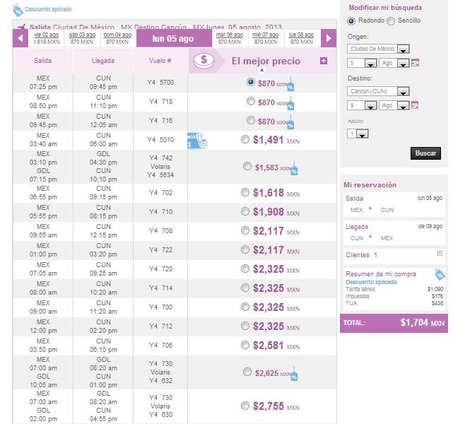 Volaris: todos los vuelos a mitad de precio este verano