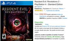 "Amazon: Resident Evil ""Revelations 2"" PS4"