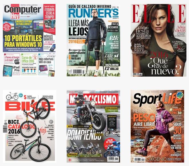 Zinio: Revistas Digitales con 70% de descuento