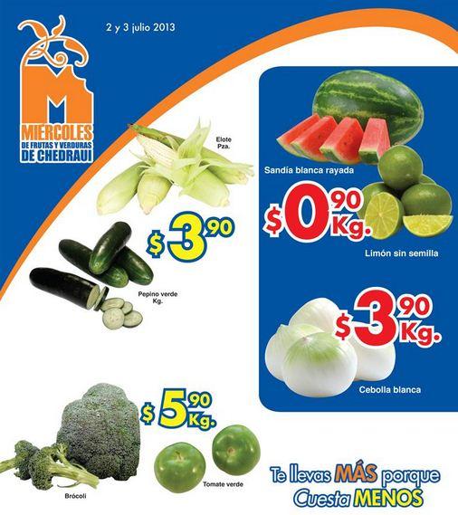 Miércoles de Chedraui: sandía rayada y limón a 90 centavos y más