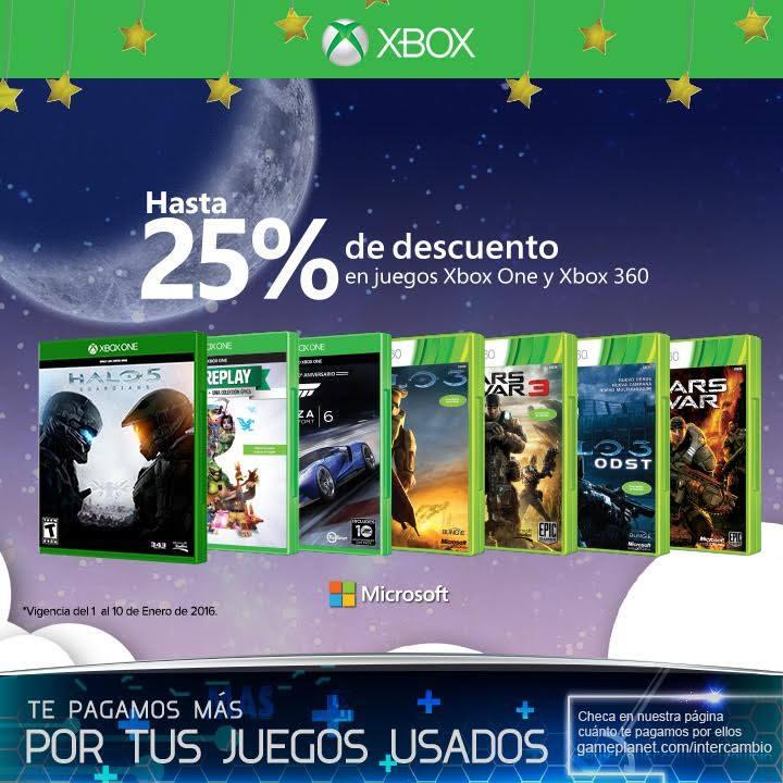Game Planet: hasta 25% de descuento en juegos de Xbox