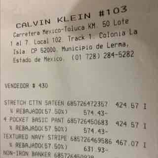 Calvin Klein Outlet Lerma: 50% + 20% en toda la tienda