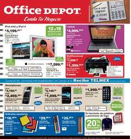 Folleto Office Depot julio 2013