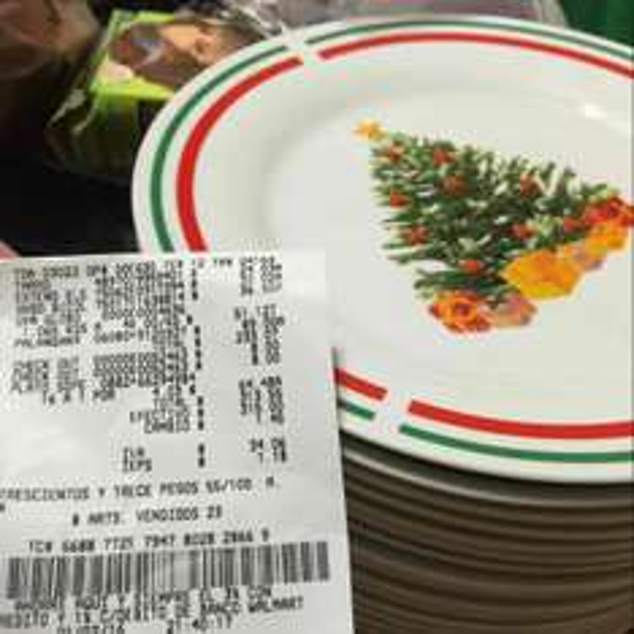 Bodega Aurrerá: Plato navideño a $4.03 pesos