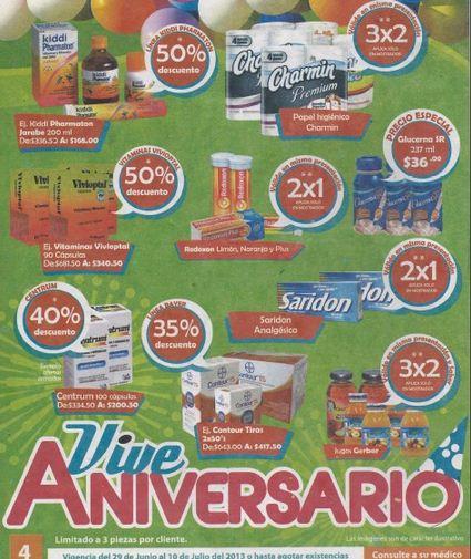 Aniversario Farmacia San Pablo: 3x2 en Huggies Supreme, papel Charmin, Gatorade y +