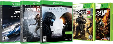 Xbox: 25% en controles y algunos titulos