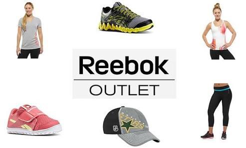 Hasta 40% de descuento en Reebok Outlet, Adidas y Puma.
