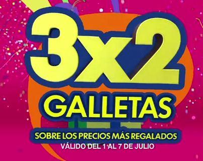Julio Regalado en La Comer: 3x2 en todas las galletas
