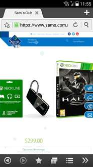 Sam's Club online : Pack halo aniversario