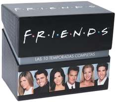 Amazon MX: Friends Serie Completa en DVD: $899, Bluray: $999