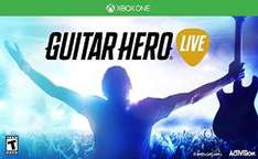 Amazon: Bundle Guitar Hero Live Juego y 1 Guitarra para Xbox One ( PS4,PS3,Wii u )  a $1420