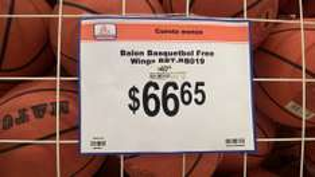 Chedraui: Balón de Basketball -Marca Match, del No 7