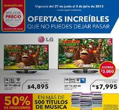 "Best Buy: LED Smart TV LG de 42"" $7,995, 20% menos en cámaras acuáticas y +"