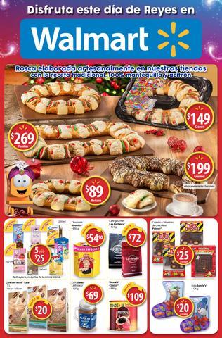 Walmart: folleto Dia de Reyes al 6 de enero
