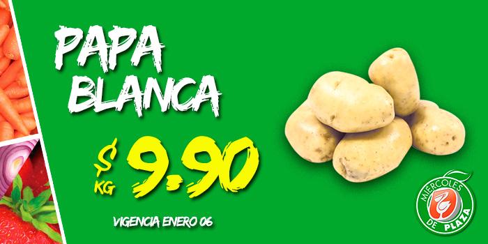 Miércoles de Plaza en La Comer enero 6: papa blanca a $9.90 el kilo y más