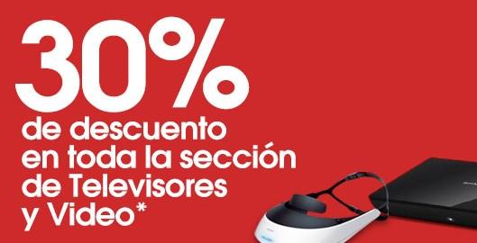 Sony Store: 30% de descuento en pantallas, reproductores blu-ray y más