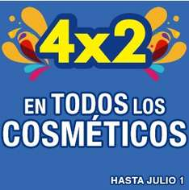 Julio Regalado en La Comer: 4x2 en todos los cosméticos