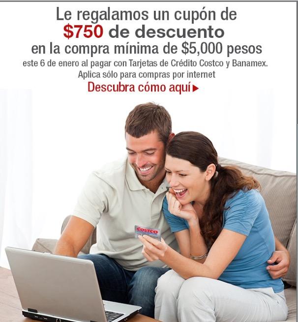 Costco: $750 de descuento en compras mayores a $5000 en línea