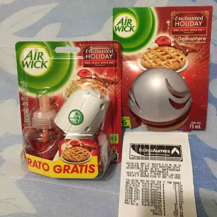 Bodega Aurrerá: AIR WICK desodorante ambiental $15.02