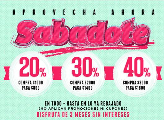 Dafiti: descuentos del 20 al 40% adicional en toda la tienda