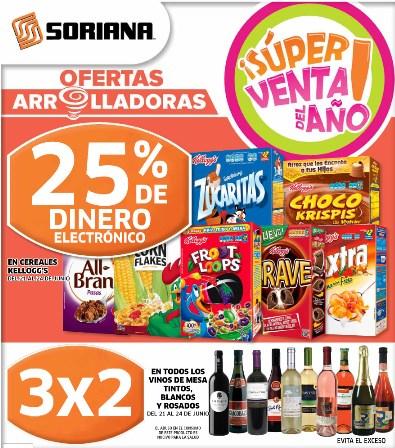 Super Venta del Año en Soriana del 21 al 27 de junio